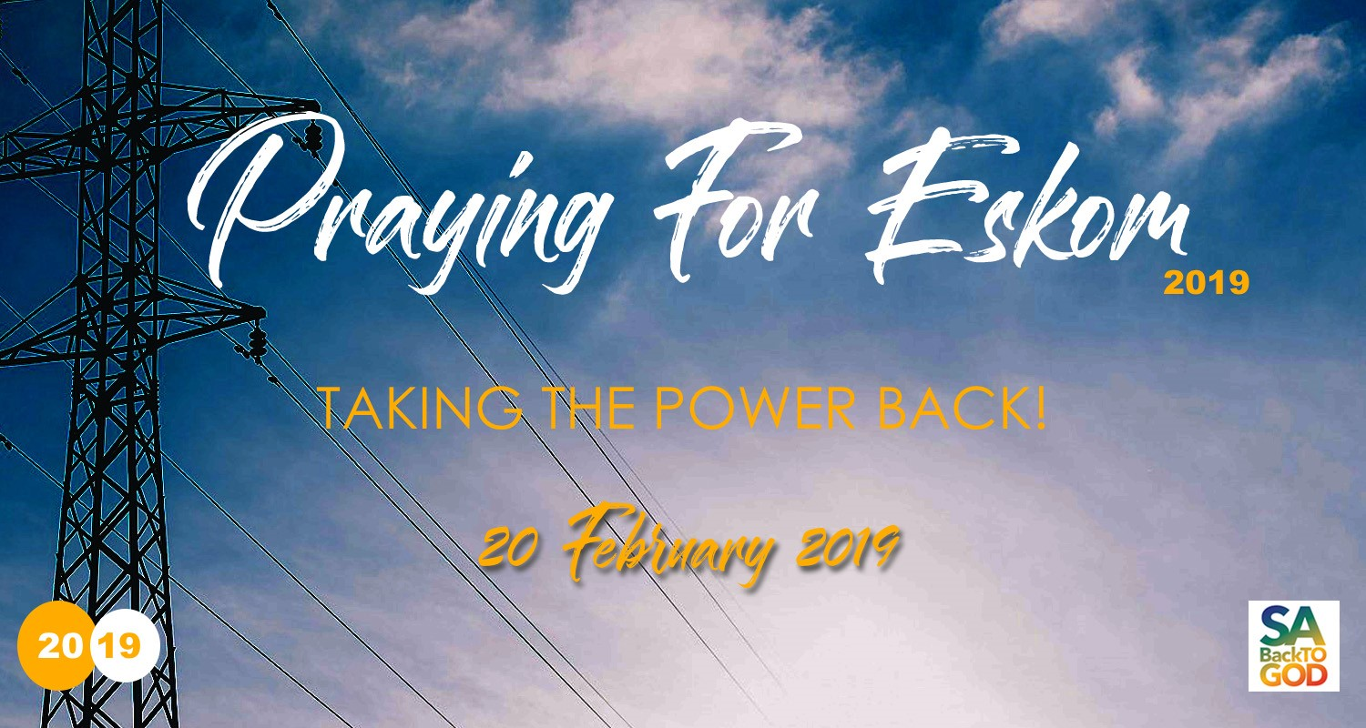 Praying for eskom